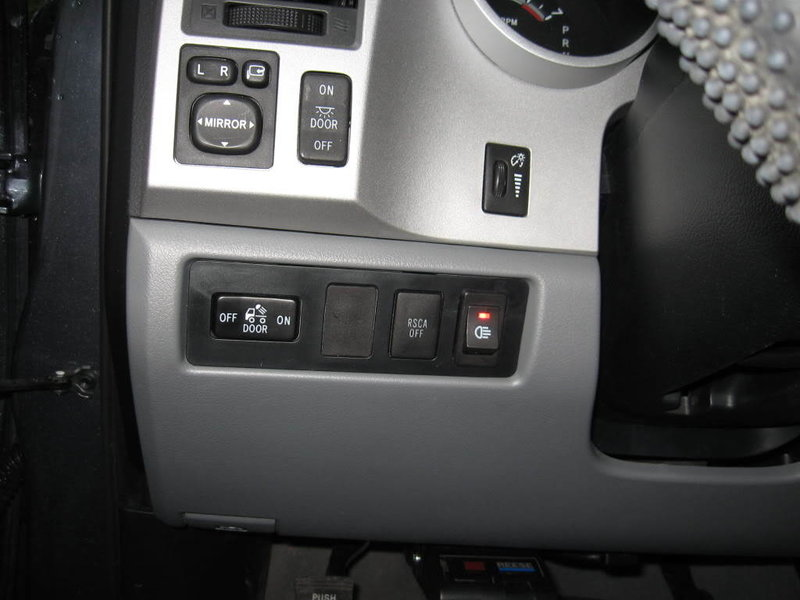 Dash Switches 2nd And 3rd Gen Tundra on toyota camry harness