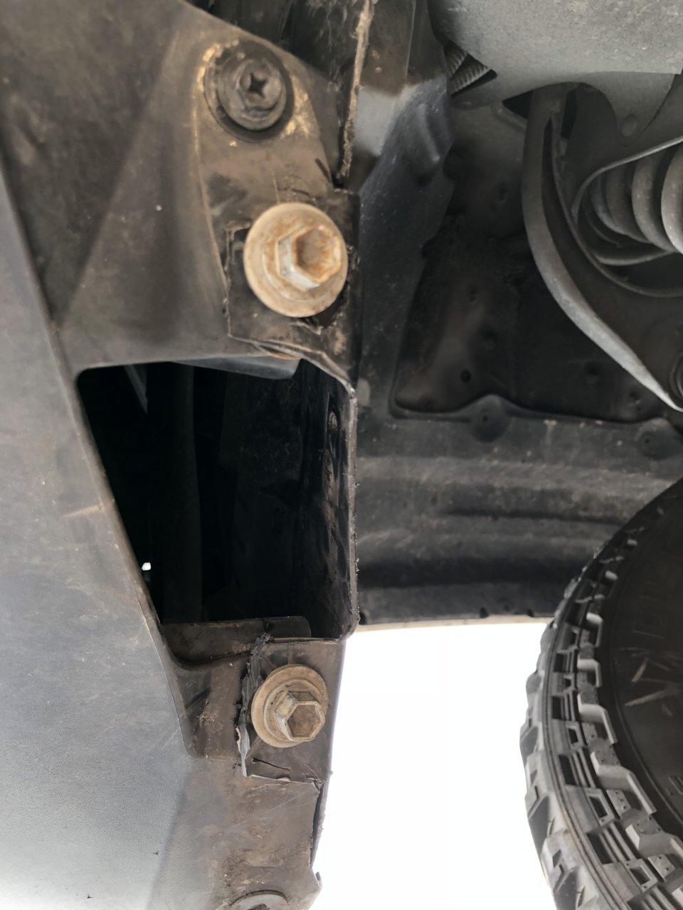 Trimming fender liner   Toyota Tundra Forum