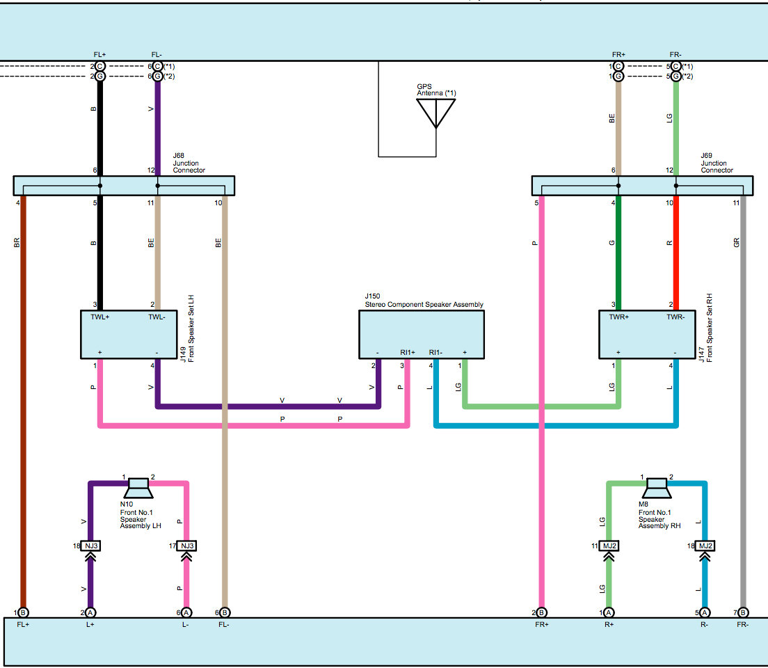 Positive and negative speaker wire | Toyota Tundra Forum | 2014 Tundra Head Unit Wiring Diagram |  | Toyota Tundra Forum