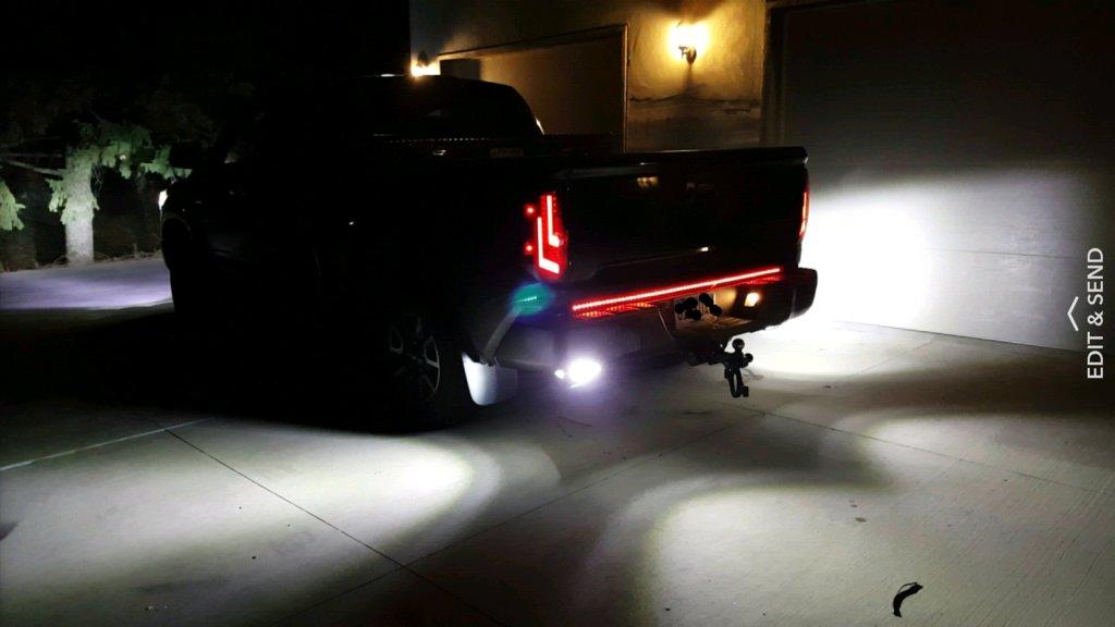 Bumper Led Reverse Lights