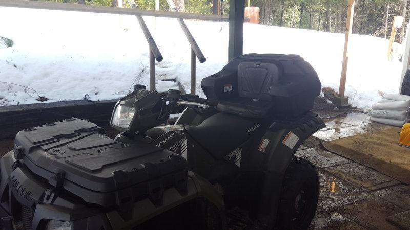 Single Rage Powersports ATV or UTV Wheel Anchor Bonnet Ratcheting Tie-Down Strap