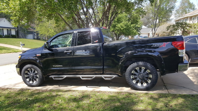 285 60r20 In Inches >> 13 Tundra Xsp X Stock No Lift Nitto Exo Grappler 285 60r20