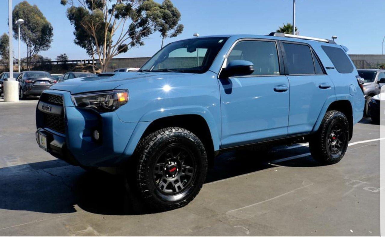 Anyone have a 2018 Cavalry blue tundra? | Toyota Tundra Forum