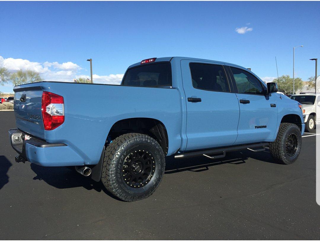 Anyone Have A 2018 Cavalry Blue Tundra Toyota Tundra Forum