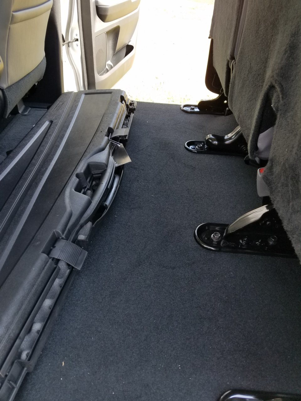 Under Rear Seat Storage For Crewmax Page 2 Toyota