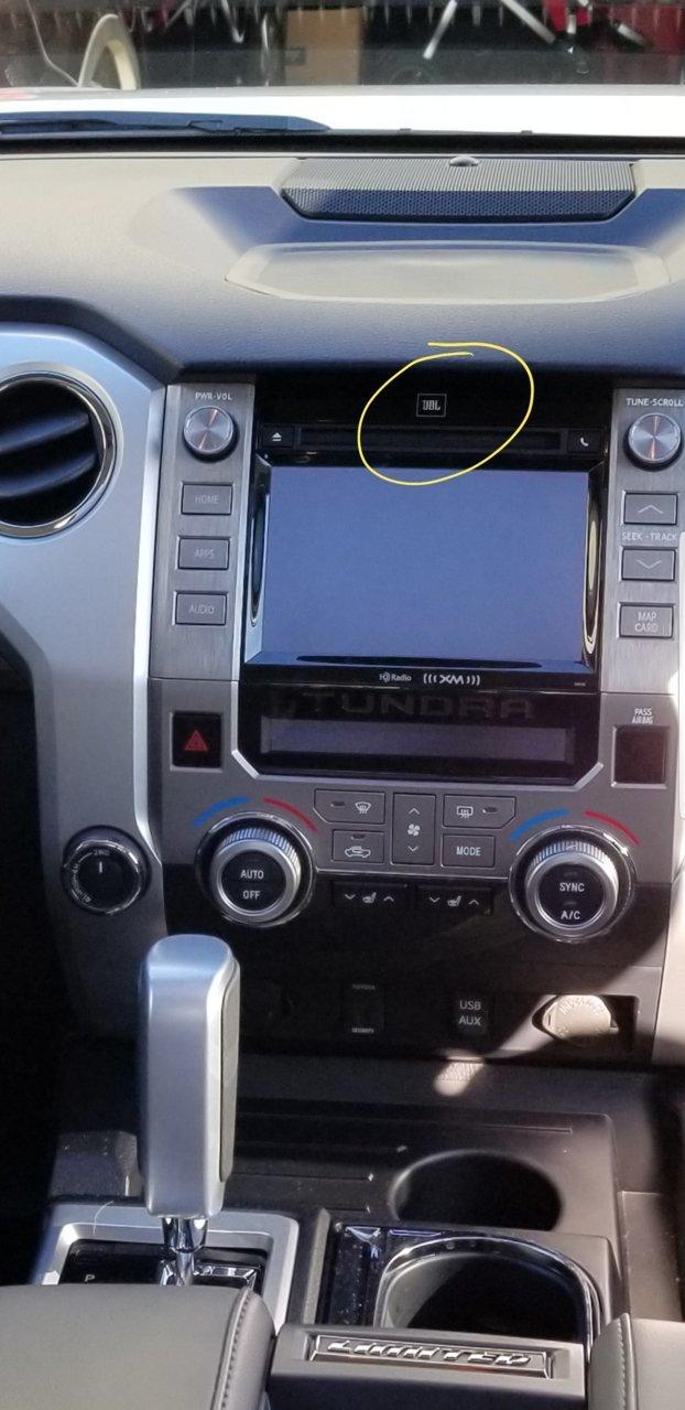 JBL vs non JBL | Toyota Tundra Forum
