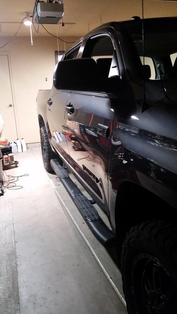 Luxury Folding Sunshade Fits Toyota Tundra Pickup Truck 2007-2017