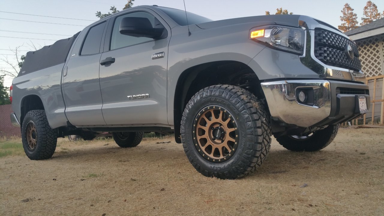 2018 Cement With Bronze Wheel Toyota Tundra Forum