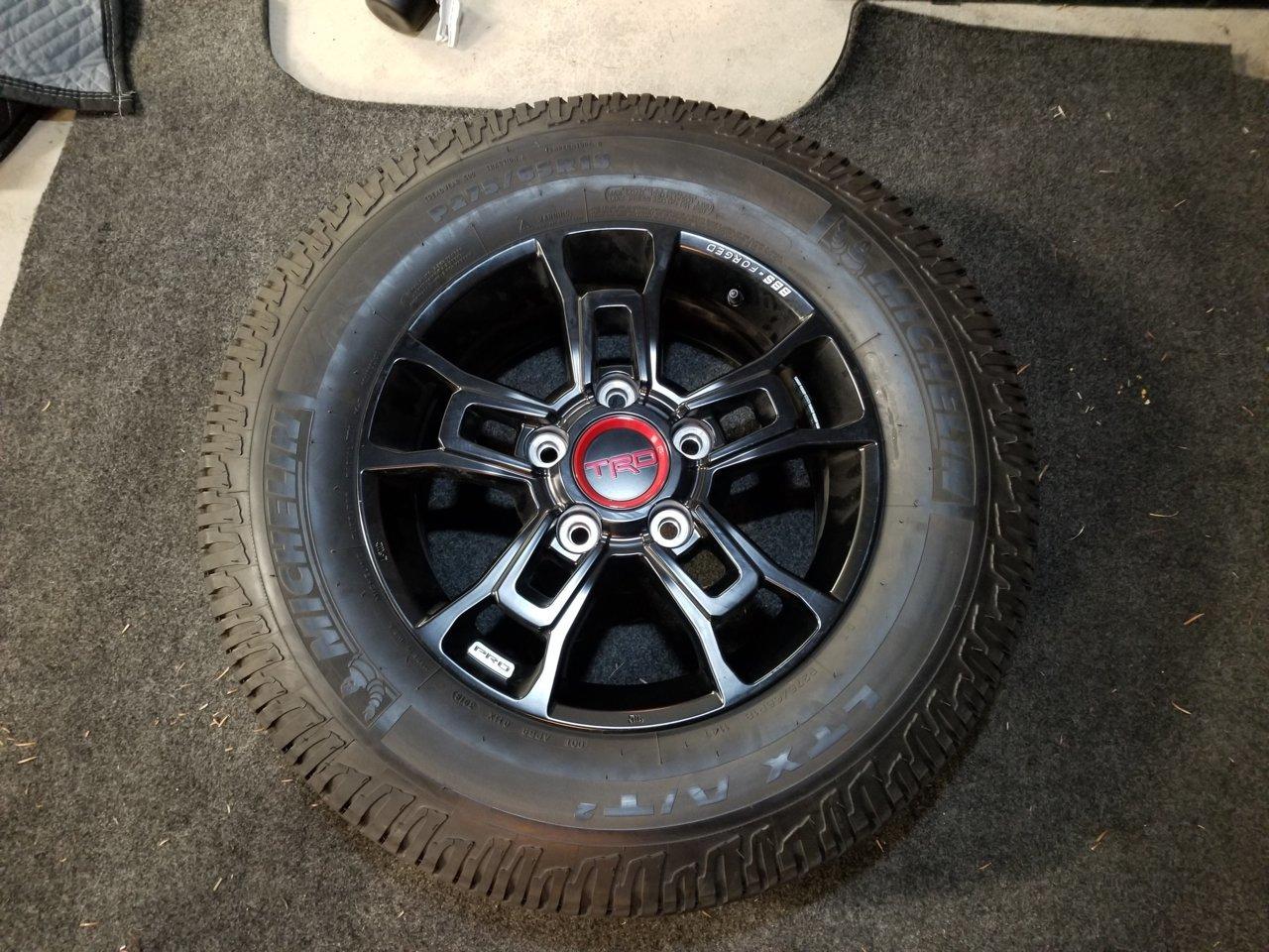 SOLD* - TRD Pro BBS Wheels & Tires | Toyota Tundra Forum