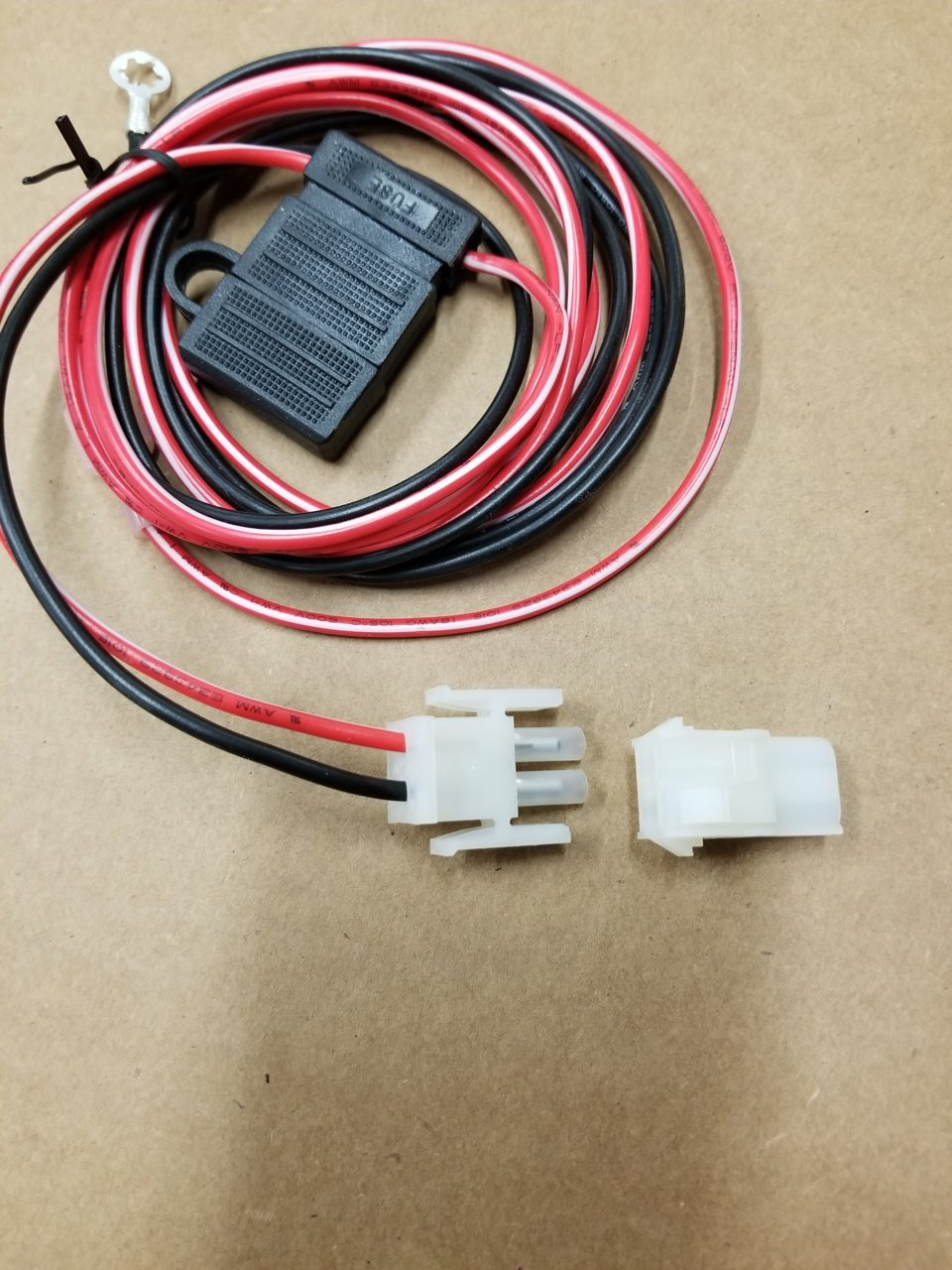 on 3 wire harness topper