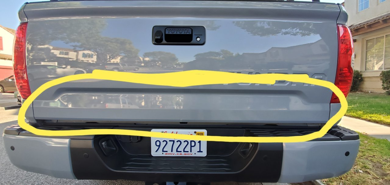 A different tailgate decal/ vinyl | Toyota Tundra Forum