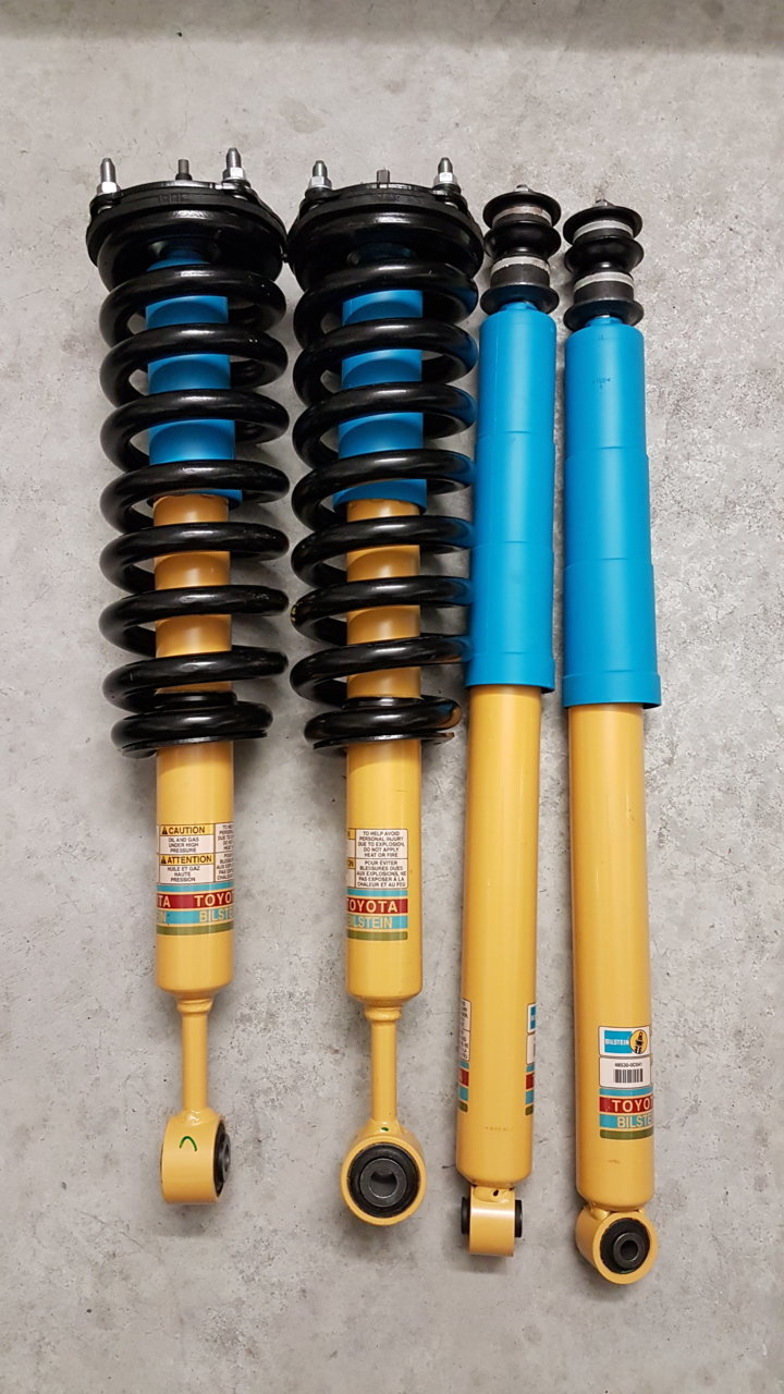 Bilstein B8 5100 Front and Rear Shock Absorbers Kit For Toyota Tundra SR5 07-20