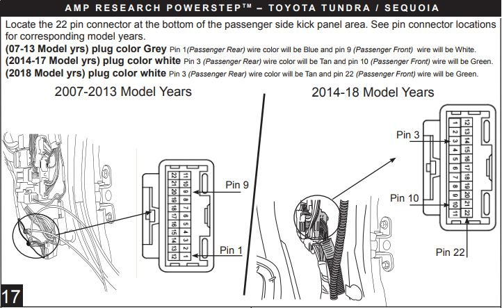 AMP Research side steps on 2018 Tundra | Toyota Tundra Forum on amp schematic, amp help, amp plug, amp power, amp wiring chart, subwoofer diagram, amp circuit, amp connectors diagram, ipod diagram, navigation diagram, circuit diagram, amp wire, amp install, speakers diagram, amp installation diagram, car amp diagram, amp wiring kit, amp fuse, radio diagram, 2001 nissan maxima fuse box diagram,