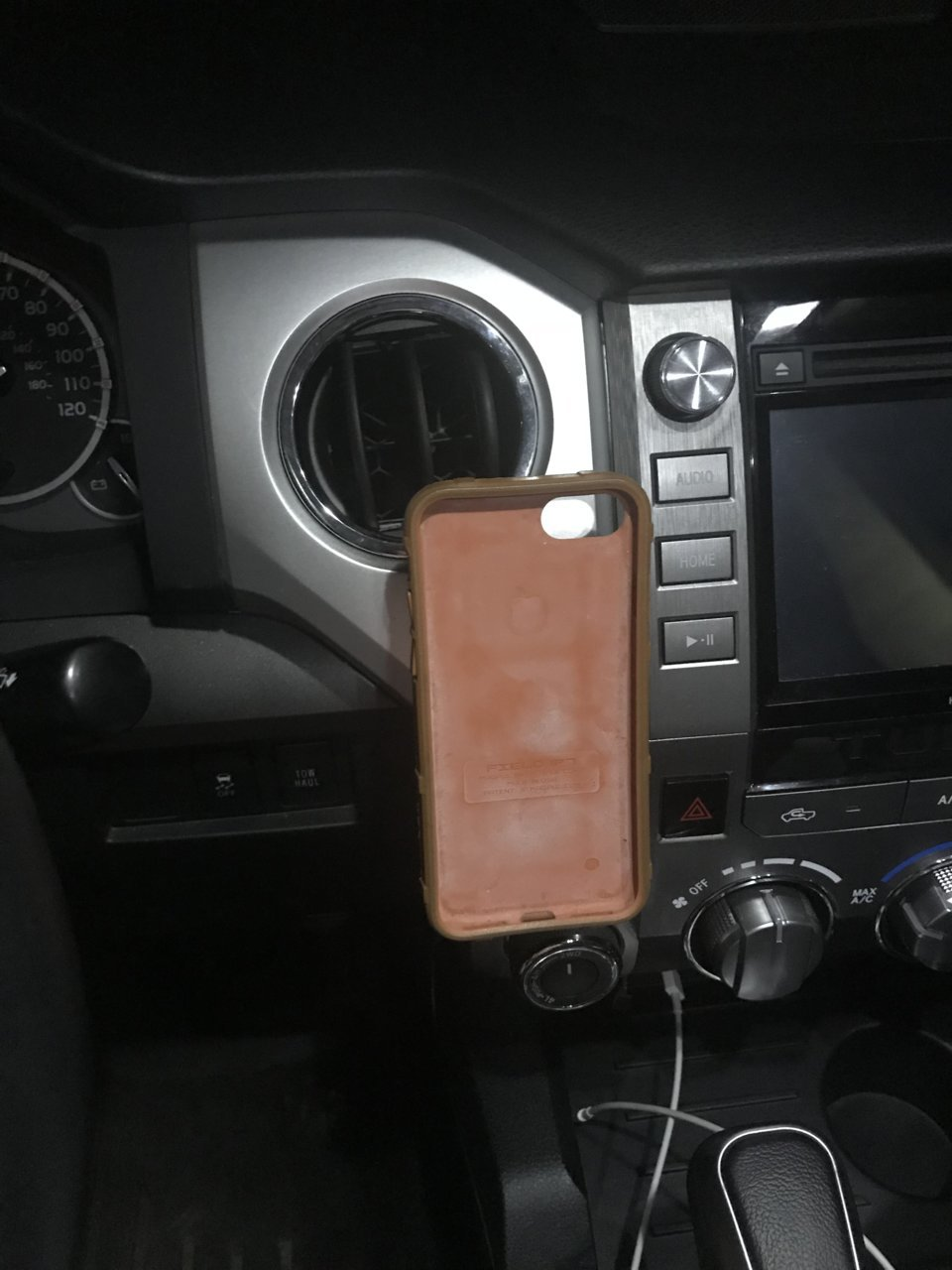 Diy Hidden Invisible Phone Mount Toyota Tundra Forum