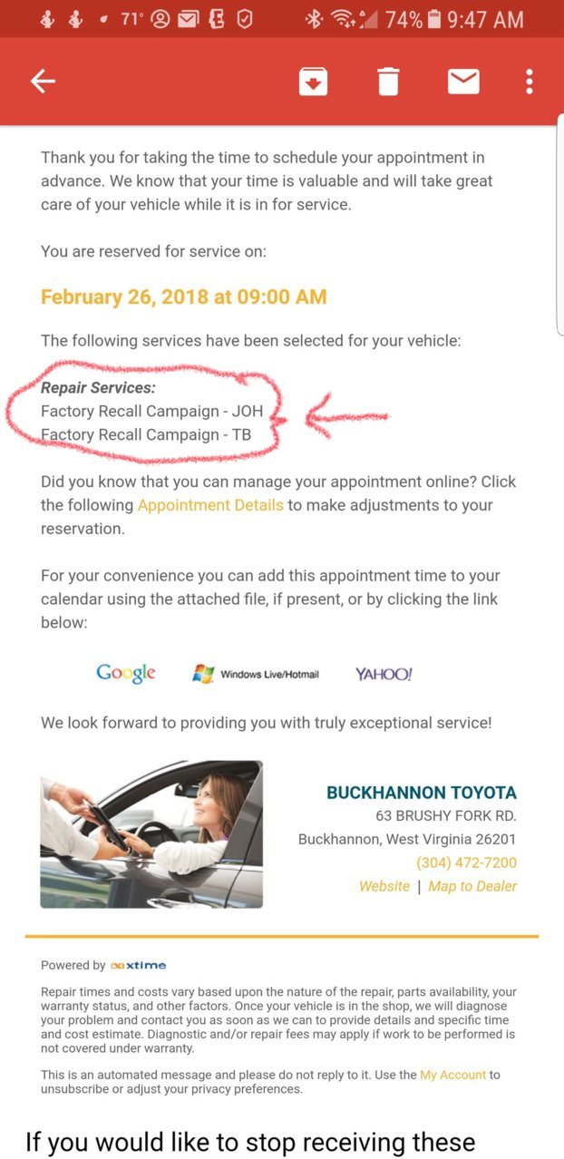 2018 Vehicle Stability Control (VSC) Recall | Toyota Tundra