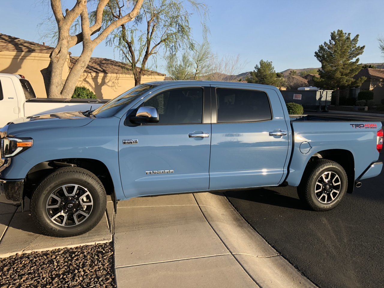 Anyone Have A 2018 Cavalry Blue Tundra Page 4 Toyota Tundra Forum