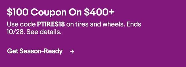 Ebay discount tire direct $100 off $400 deal   Toyota Tundra