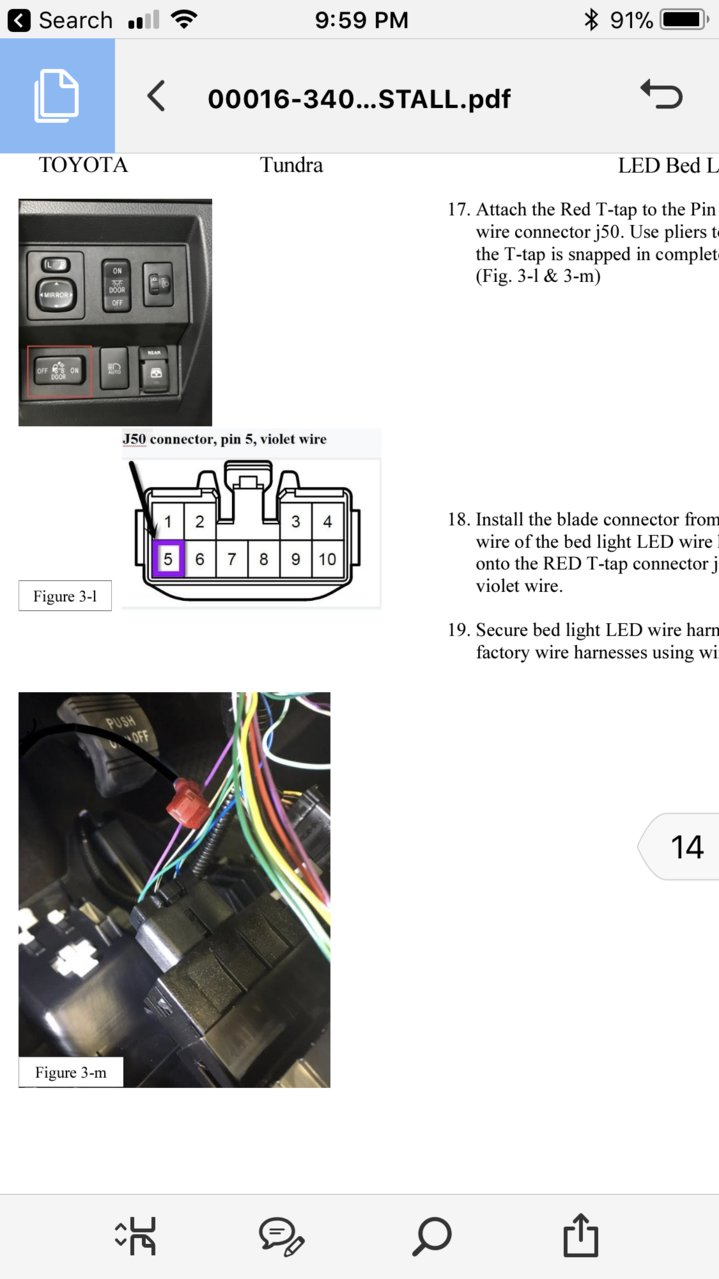 Bed Light Wiring Help Please Toyota Tundra Forum 18 Pin Connector Harness 6c7cb197 56a0 4d72 A66f 48418e90d7cc