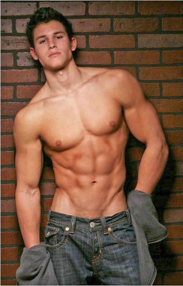 голый парень молодой фото