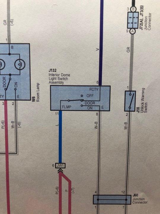 Wiring diagram for interior Light Switch 2015 | Toyota Tundra Forum | 2014 Tundra Headlight Wiring Diagram Auto |  | Toyota Tundra Forum