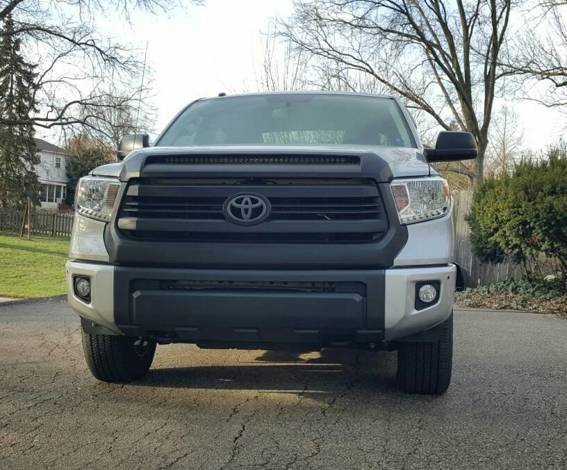Vinyl Wrapped My Bumper Caps Toyota Tundra Forum