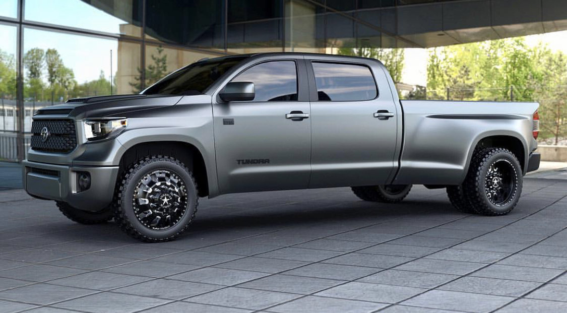 Image result for 2019 toyota tundra dually