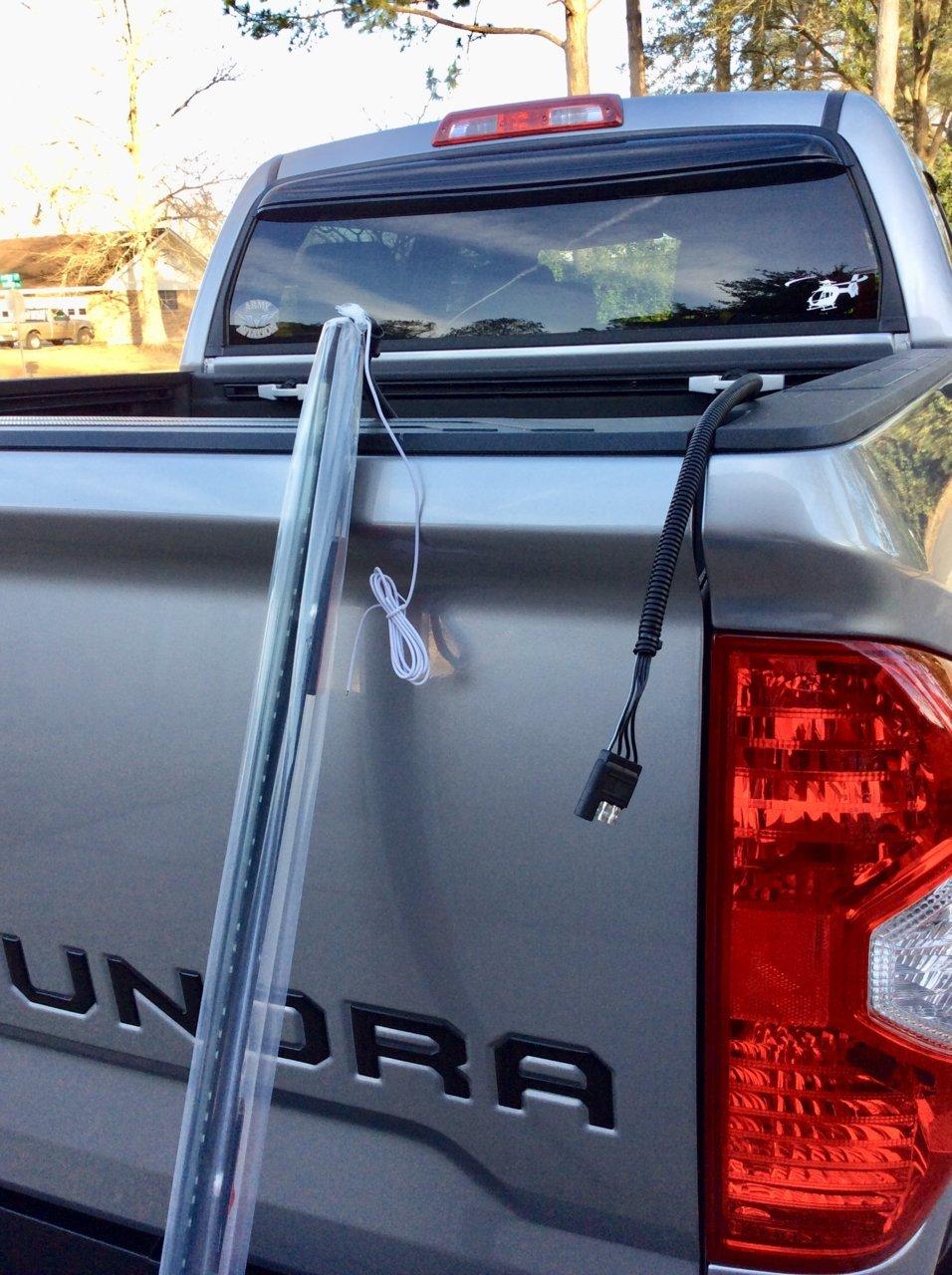 LED light bar install   Toyota Tundra Forum