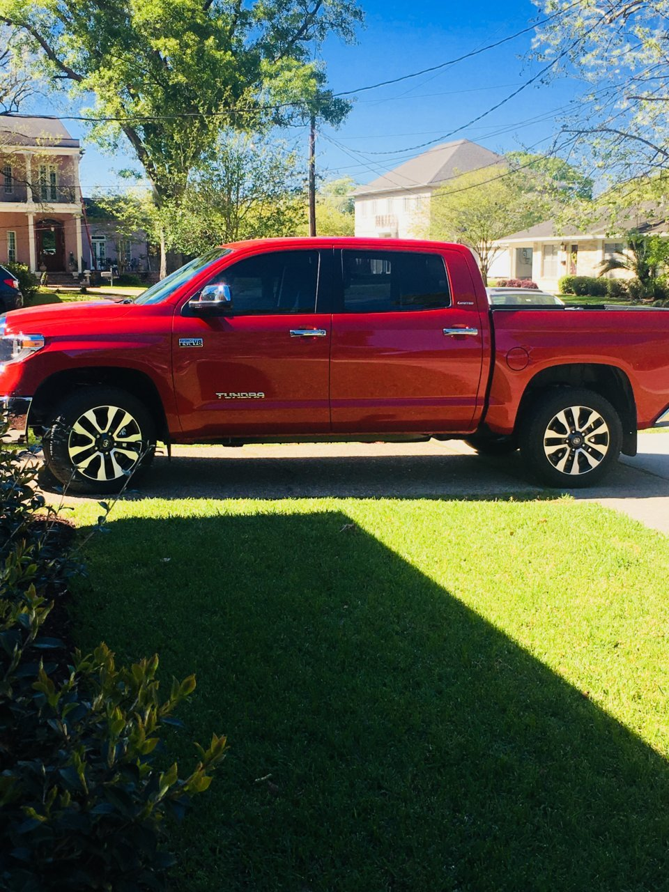 Putting More Aggressive Tires On Stock 20 S Toyota Tundra Forum