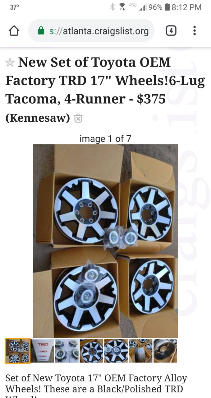 Let S See 1st Gen With Toyota Rims Toyota Tundra Forum