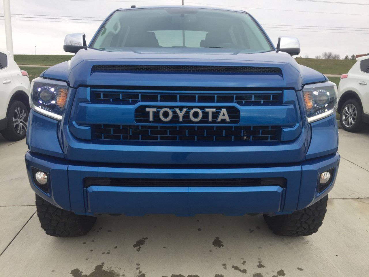 Color Matched Trd Pro Grill Insert Toyota Tundra Forum
