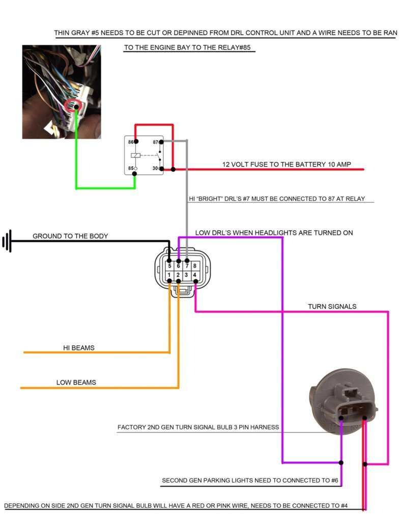 Drl Relay Wiring Diagram Along With 5 Wire Gmc Headlamp Pole Libraries 2018 Sequoia Headlights On 2nd Gen Tundra Toyota Forum