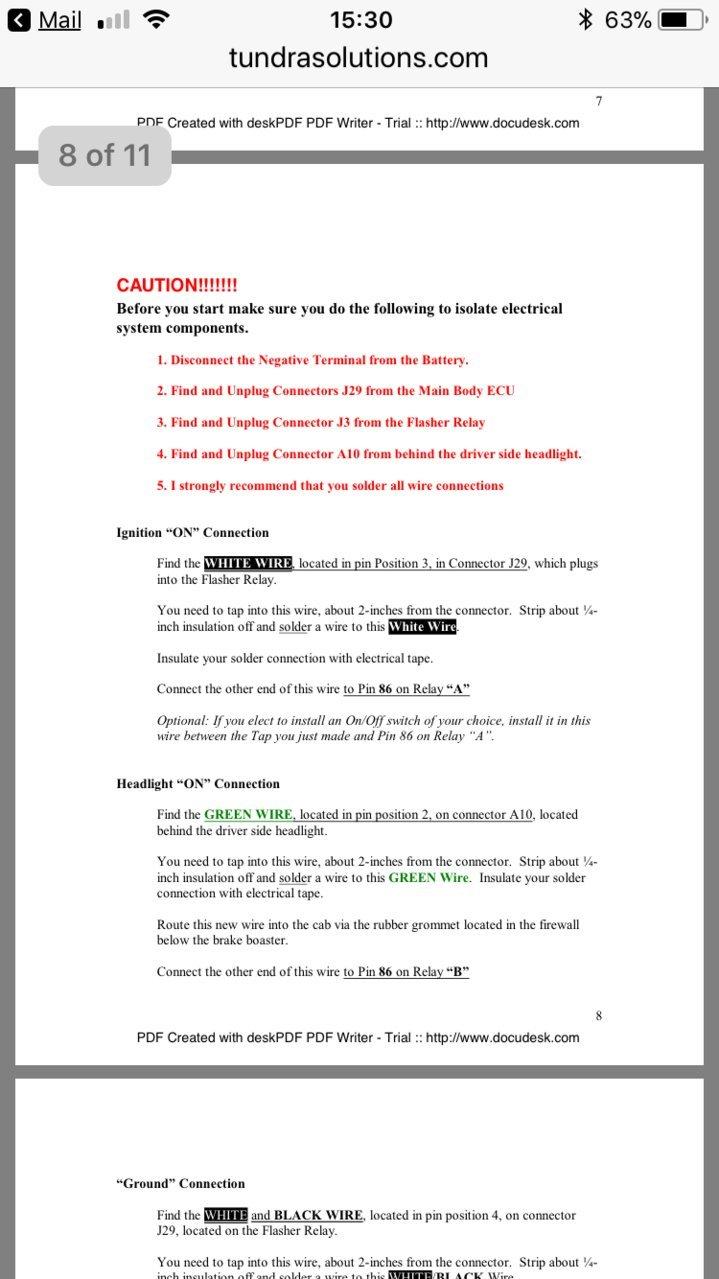 Drl Help Toyota Tundra Forum 2008 Wiring Diagram Lights Cfeeb44f 0e52 4565 8919 F5550c47e8a1