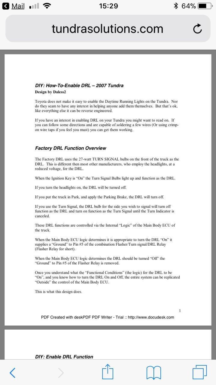 Drl Help Toyota Tundra Forum 2014 Oem Amp Wiring Diagram Da021dd2 6d7f 4de4 B613 Ed287a40ab8a