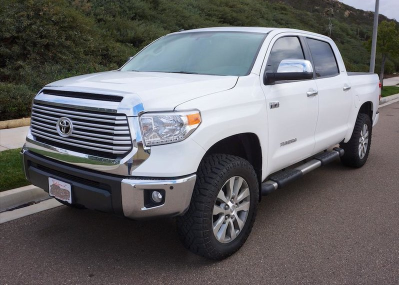 Tundra Limited 2016 >> Want my tires to stick out past the fender a little | Toyota Tundra Forum