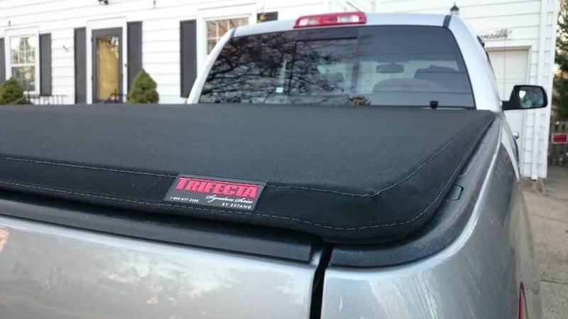 Installed Extang Trifecta Signature Series Canvas Tonneau