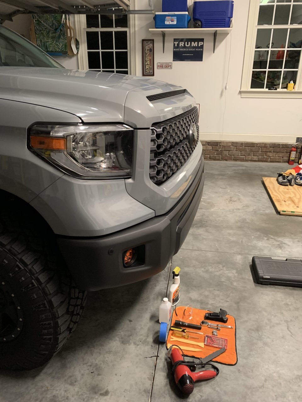 Group Buy Now Open Covers For Chrome Tundra Bumpers