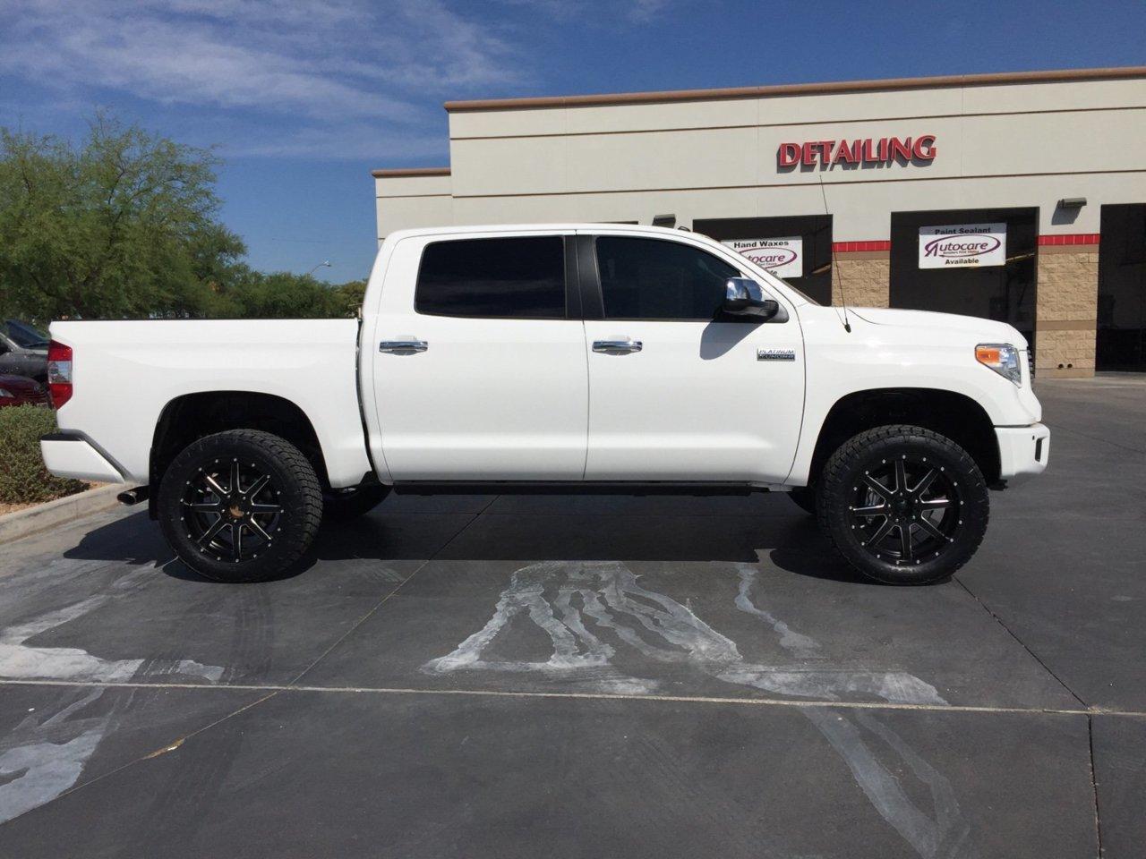 2016 Tundra Platinum lift and wheels | Toyota Tundra Forum