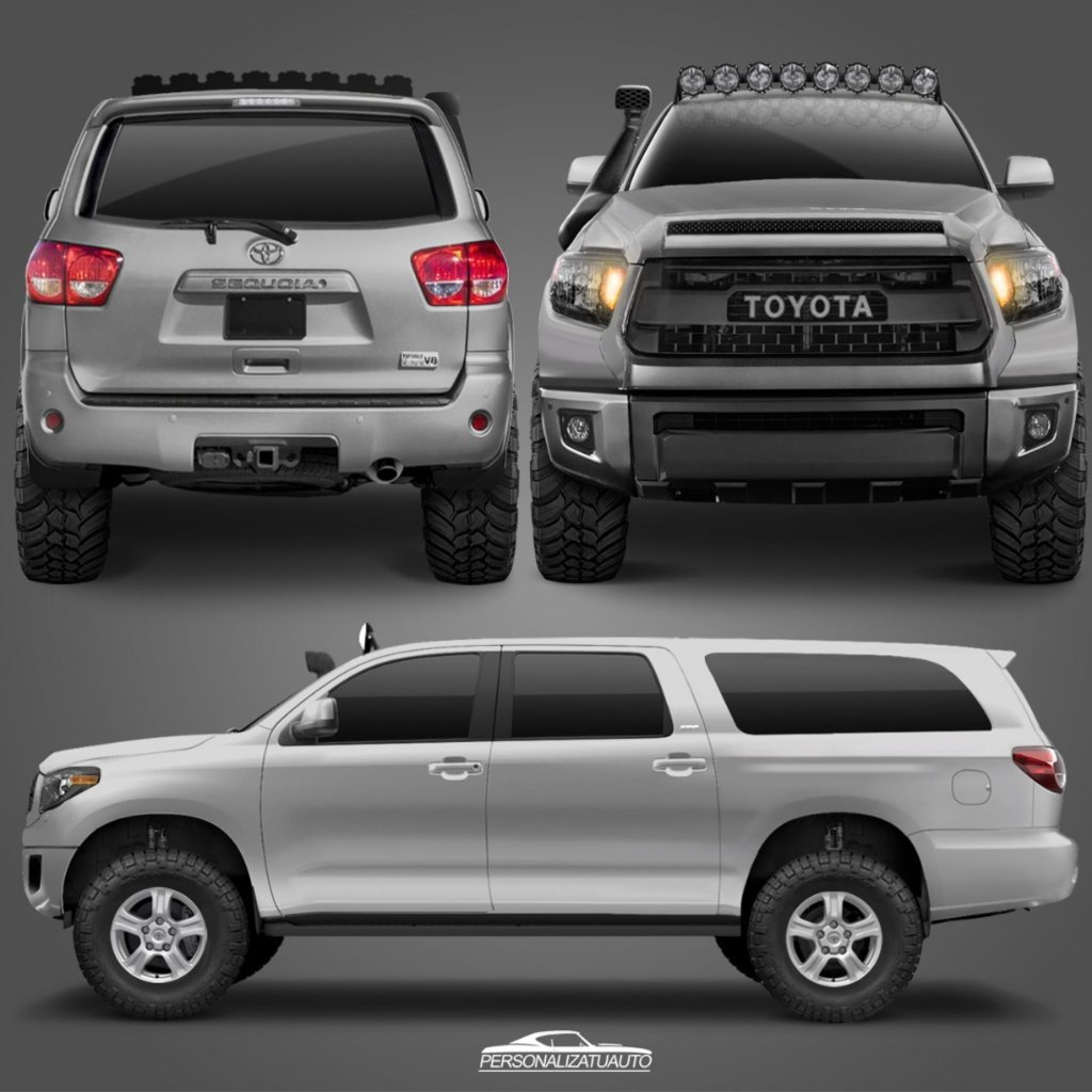 2018 Toyota Sequoia Design: Anyone Else Waiting For The New Design And XL Version
