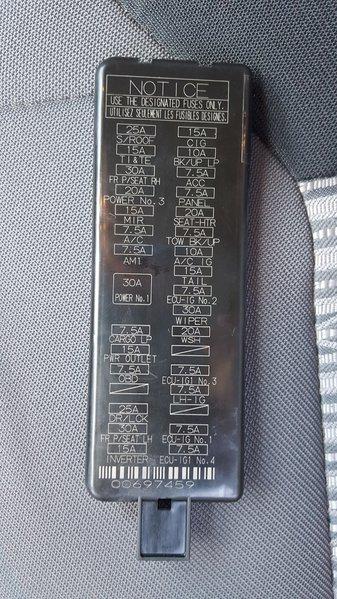 Interior Fuse Box Location And Information Toyota Tundra. Wiring. 2000 Tundra Engine Compartment Fuse Box Diagram At Scoala.co