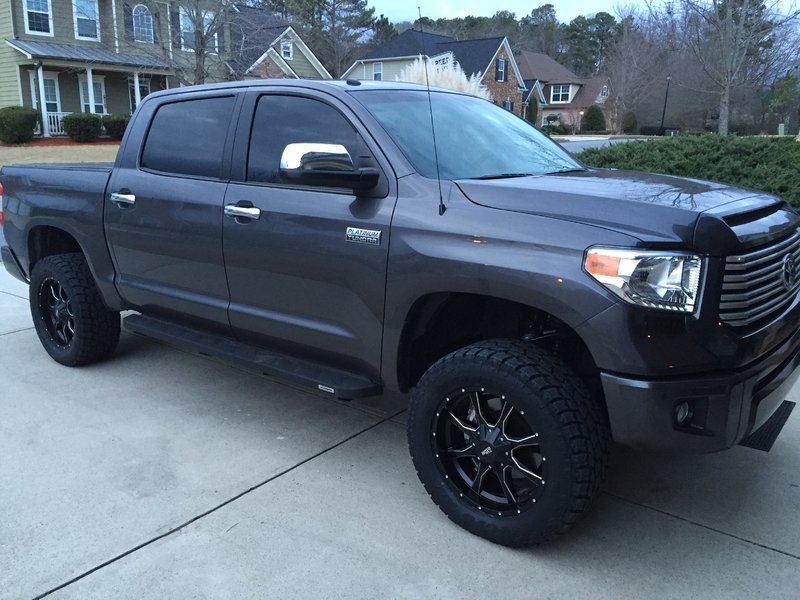 Tundra Limited 2016 >> Pics of your Step Bars / Running Boards? | Page 3 | Toyota ...