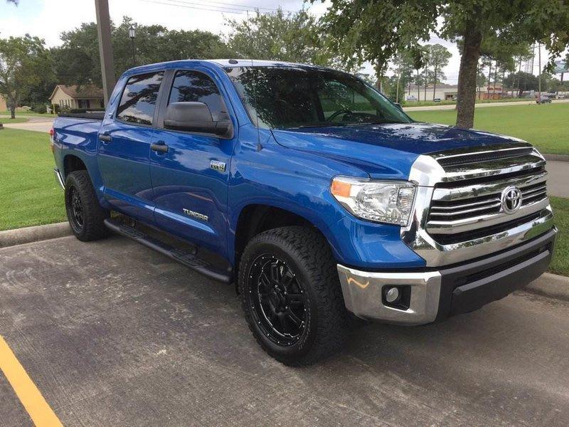 Any Blazing Blue Pearls W Trd Grill Toyota Tundra Forum
