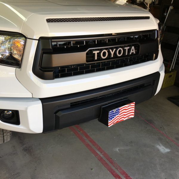 Hidden winch mount | Toyota Tundra Forum on