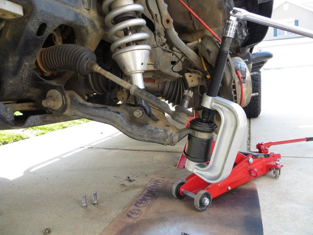 LCA Ball Joint Replacement on 2007+ 2nd and 3rd Gen Tundra ...