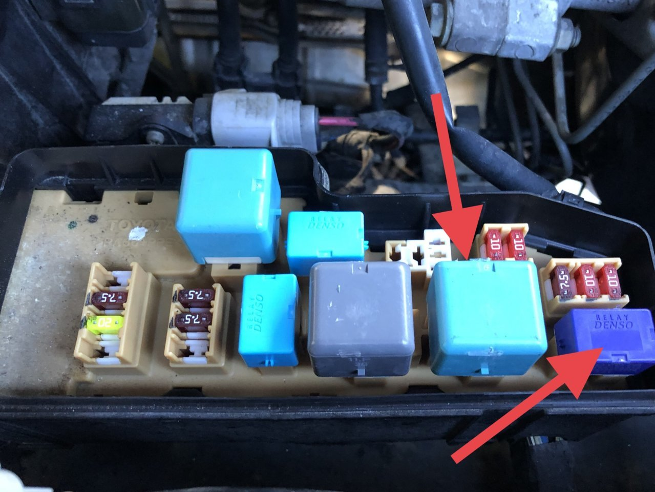 2005 Tundra Ran Fine Yesterday But Dead Today Toyota Forum Mini Cooper Fuse Box Clicking Img 0533