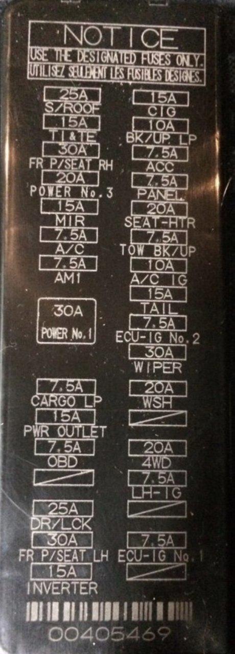 2015 toyota tundra fuse diagram 2019 platinum tundra fuse diagram toyota tundra forum  2019 platinum tundra fuse diagram