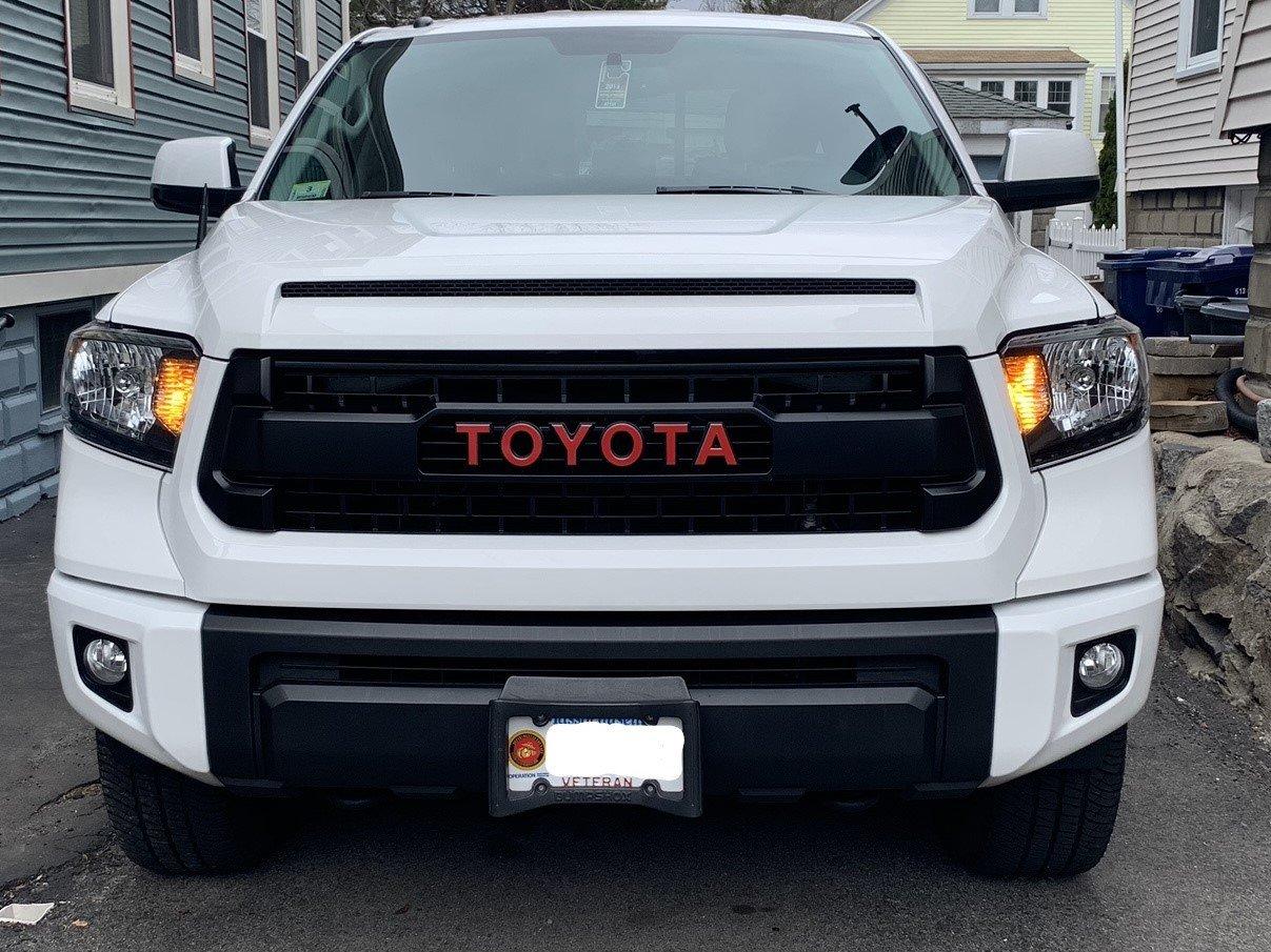 2016 Trd Pro Retrofitted With 19 Trd Pro Headlights And 18 Foglights Toyota Tundra Forum