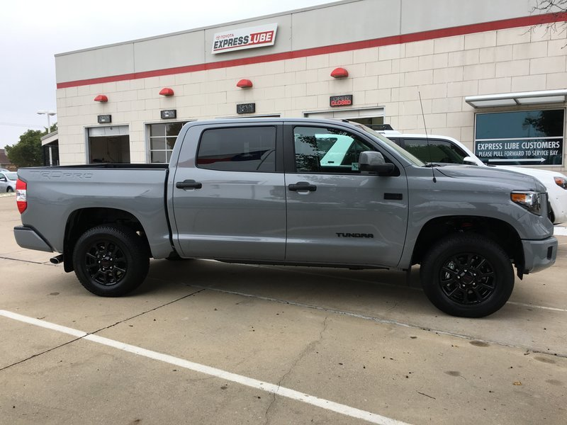 Who S Chunked Trd Pro Suspension Toyota Tundra Forum