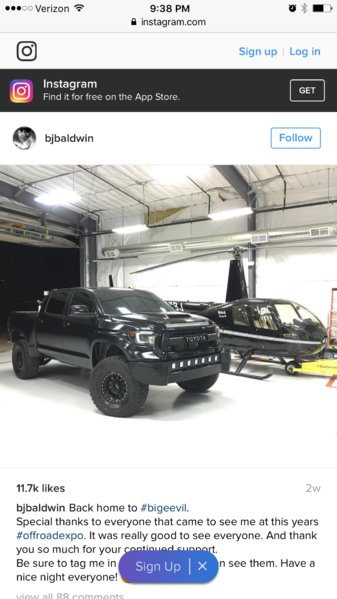 Bj Baldwin S Big Evil Toyota Tundra Forum