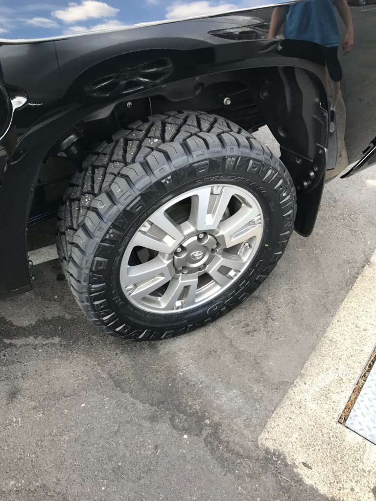 Nitto Ridge Grappler Sizes >> The Ridge Grapplers Are Amazing Toyota Tundra Forum