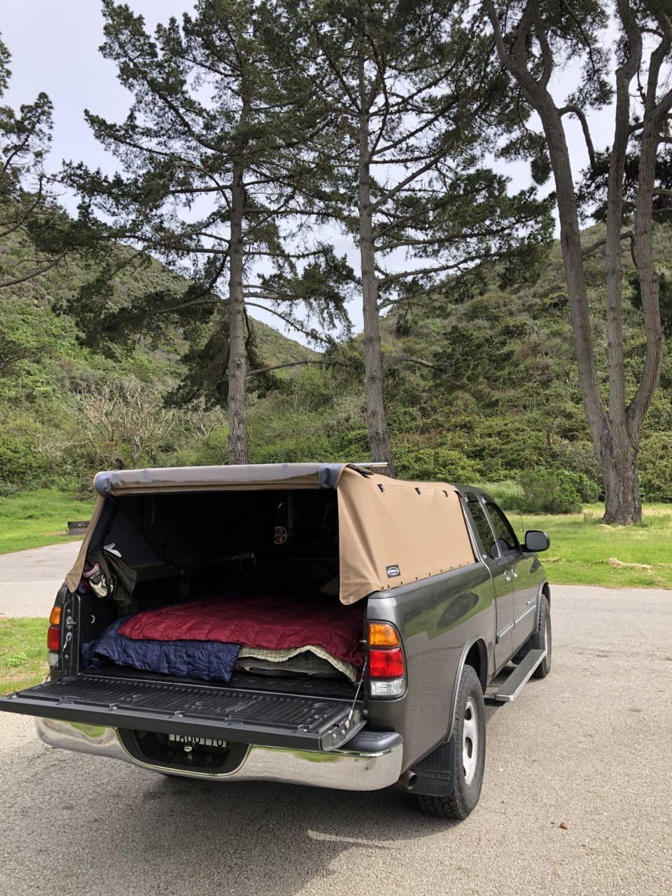 Camper Shells Topper Soft Or Hard For Camping Toyota Tundra Forum